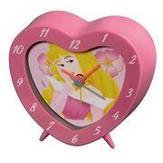 Часы будильник Hama Princess Disney, розовые (H-106924)