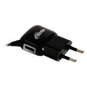 Зарядное устройство RITMIX RM-313 220V->5V 0.5A microUSB/USB