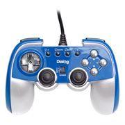 Геймпад DIALOG GP-M22 USB, синий