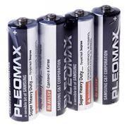 Батарейка AA SAMSUNG PLEOMAX R6, солевая, 4 шт, термопленка