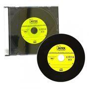 Диск CD-R MIREX 700Mb Maestro Vinyl 52x, Slim Case (UL120120A8F)