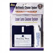 Набор чистящих дисков с жидкостью для линз CD привода и головок FDD дисковода