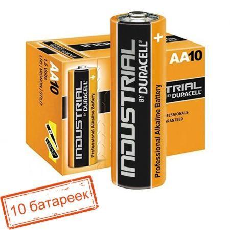 Батарейка AA DURACELL INDUSTRIAL LR6, 10 шт, в коробке