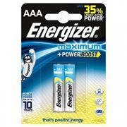 Батарейка AAA ENERGIZER MAXIMUM LR03-2BL, 2шт, блистер