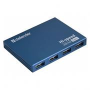 HUB 7-port DEFENDER Septima Slim USB 2.0 с блоком питания (83505)