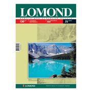 Бумага A4 LOMOND глянцевая 130 г/м, 25 листов (0102041)