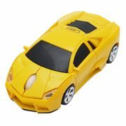 Мышь беспроводная CBR MF-500 Bizzare, Yellow