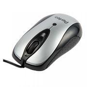 Мышь Perfeo PF-17, серебристо-черная, USB