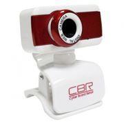 Веб-камера CBR CW-832M Red USB