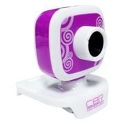 Веб-камера CBR CW-835M Purple USB