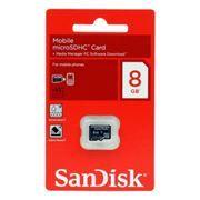 Карта памяти Micro SDHC 8Gb Sandisk Class 4 без адаптера (SDSDQM-008G-B35)