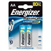 Батарейка AA ENERGIZER MAXIMUM LR6-2BL, 2шт, блистер
