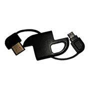 Кабель USB 2.0 Am=>micro B,  в виде брелка, Ritmix RM-202