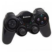 Геймпад беспроводной DEFENDER Game Racer Wireless PRO, PC/PS2  (64262)