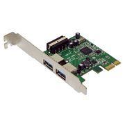 PCIe контроллер 2 внешних порта USB 3.0, AgeStar U3E