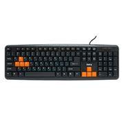 Клавиатура игровая DIALOG KS-020BO USB, черно-оранжевая