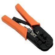 Инструмент клещи 5bites LY-T568R с фиксатором, для разделки обжима 8р и 6p