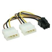 Переходник питания для видеокарты PCI-E 6pin -> 5 + 5