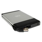 Внешний контейнер для 2.5 HDD S-ATA AgeStar SUB2A5, алюмин., серебр., USB 2.0