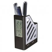 Подставка для ручек CBR FD 353 с часами, термометром и USB-концентратором