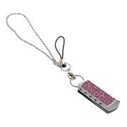 16Gb QUMO Charm Series Ice Rose, Swarovski Elements (QM16GUD-Charm-Ice)