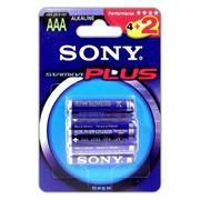 Батарейка AAA SONY LR03-2+4BL Alkaline, 6шт, блистер