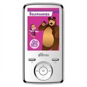 MP3 плеер 4Gb RITMIX RF-7650M Маша и Медведь, белый