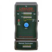 Тестер кабеля 5bites LY-CT011 для UTP/STP RJ45, RJ11/12, BNC, USB