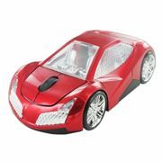 Мышь беспроводная CBR MF-500 Elegance, Red