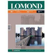 Бумага A4 LOMOND матовая 90 г/м, 25 листов (0102029)