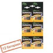 Батарейка AAA DURACELL LR03-12BL, 12 шт, отрывной блистер (MN2400)