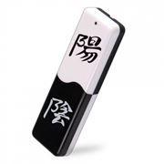 16Gb QUMO Yin Yang с механической защитой от стирания (QM16GUD-Y&Y)