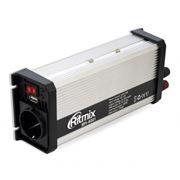 Автоадаптер-инвертор 600W RITMIX RPI-6001, USB, 12v->220v
