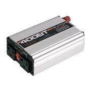 Автоадаптер-инвертор 400W Qumo, USB, 2 розетки, 12v->220v (16190)