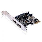 PCI-E контроллер 2 внешних и 2 х внутренних порта SATAII, AgeStar as-pes4-s32