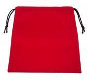 Подарочный мешочек для USB флеш накопителей, 17x19 см, красный, бархат