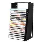 Подставка для дисков 20 DVD Sound Box DVD-20TR Трамплин для слим-боксов, черная