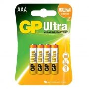 Батарейка AAA GP Ultra Alkaline LR03, 4 шт, блистер (24AU-CR4)