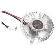 Кулер для видеокарты 50x50x10, 3/4-pin, 12V, подшипник, алюминий, Gembird (VC-RD)