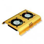 Система для охлаждения HDD Gembird HD-A4 c 2 вентиляторами