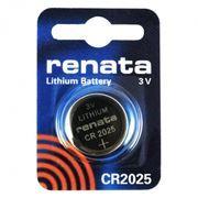 Батарейка CR2025 Renata, 1 шт, блистер