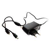 Зарядное устройство KS-is KS-003 Mich  220V->5V 2A с кабелем mini и micro USB
