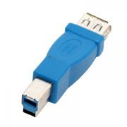 Адаптер USB 3.0 Af - Bm, 5bites (UA-3002)