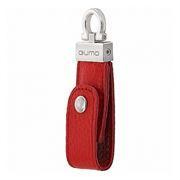 16Gb QUMO Lex, кожаный, красный, USB 2.0 (QM16GUD-Lex)