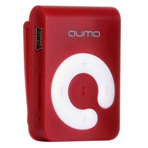 MP3 плеер 4Gb Qumo Hit Red