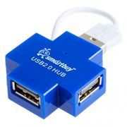 HUB 4-port SmartBuy SBHA-6900-B Blue USB2.0