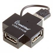 HUB 4-port SmartBuy SBHA-6900-K Black USB2.0