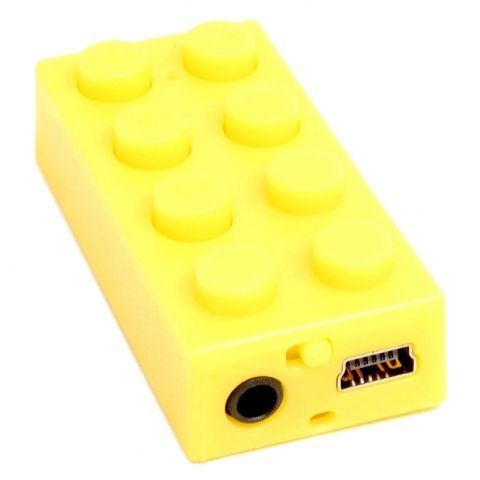 MP3 плеер Sempai SPL-07 Lego, желтый