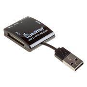 Карт-ридер внешний USB SmartBuy SBR-713-K Black