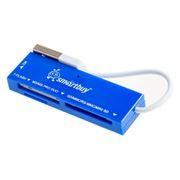 Карт-ридер внешний USB SmartBuy SBR-717-B Blue